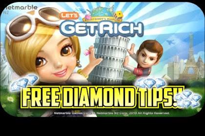Cara Mudah Mendapat Diamond GRATIS di LINE Lets Get Rich (LGR) 2017