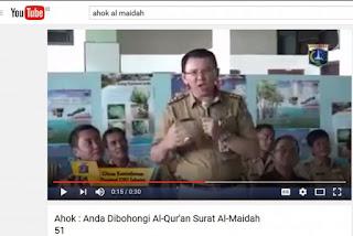 Waduh Sudah ada Saksi di Pulau Seribu yang Benarkan Jika Ahok Hina Surah Al Maidah 51 - Commando
