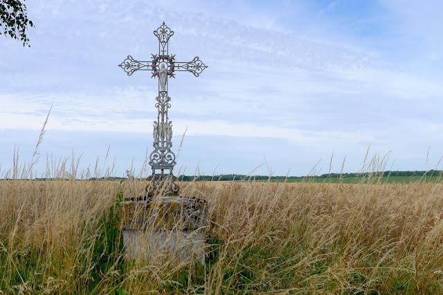 De Paris à Angers par la Loire à vélo, croix de chemin