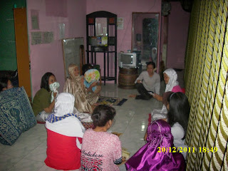 night practice di VOC kampung inggris pare kediri