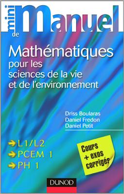 Télécharger Livre Gratuit Mini manuel de Mathématiques pour les sciences de la vie et de l'environnement pdf
