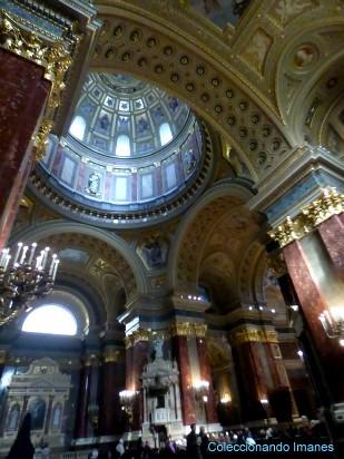 Interior de la Basílica de Budapest