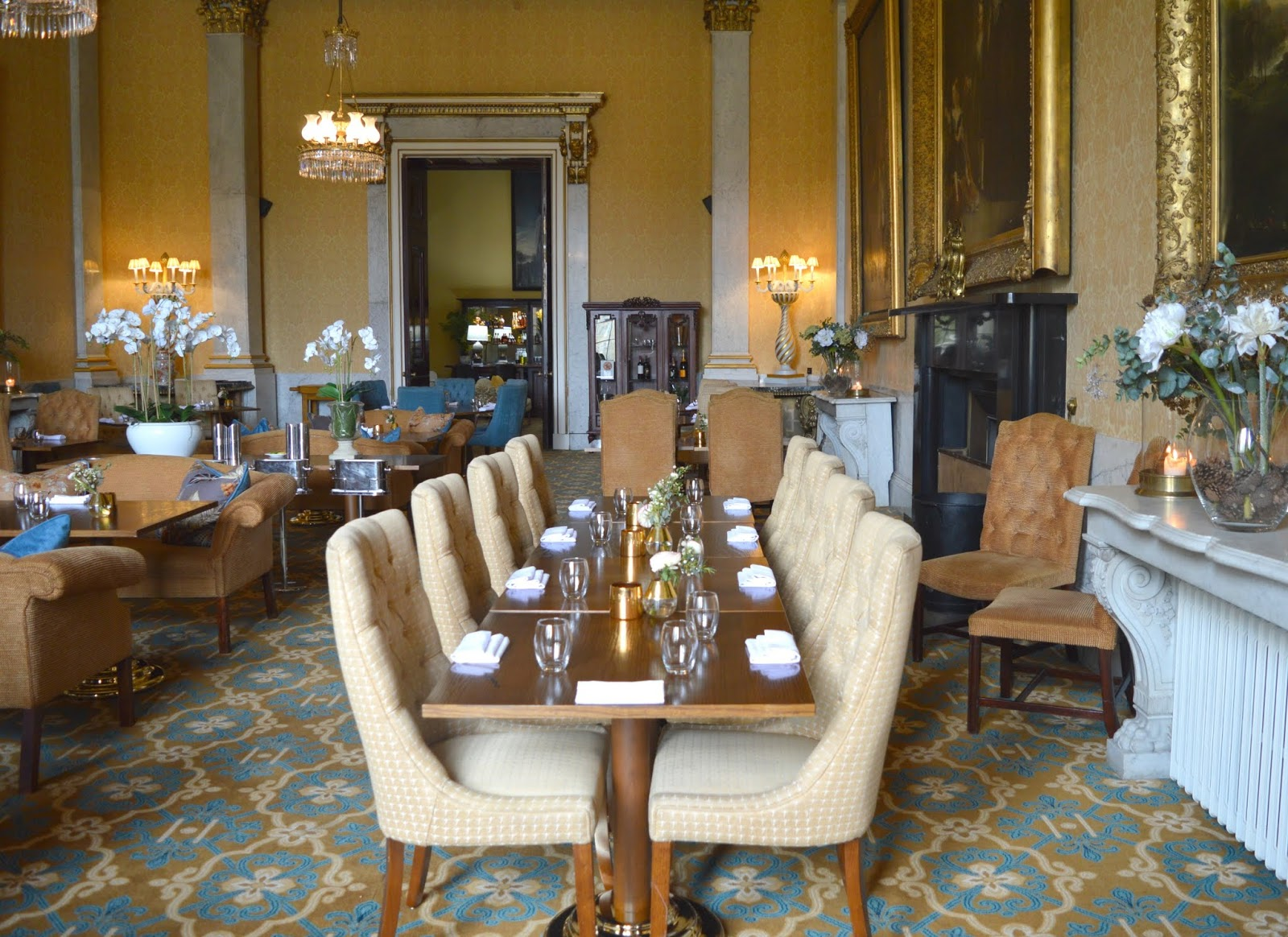 Lunch Date at Wynyard Hall - Wellington Restaurant