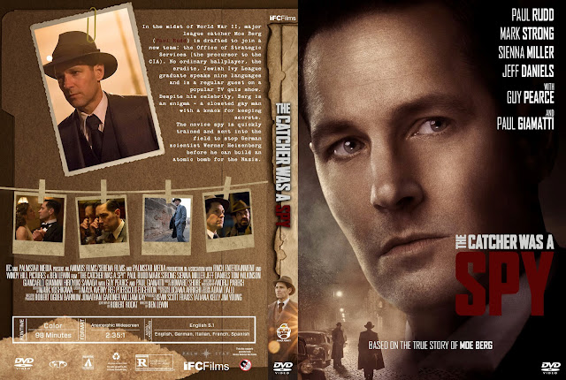 The Catcher Was a Spy DVD Cover