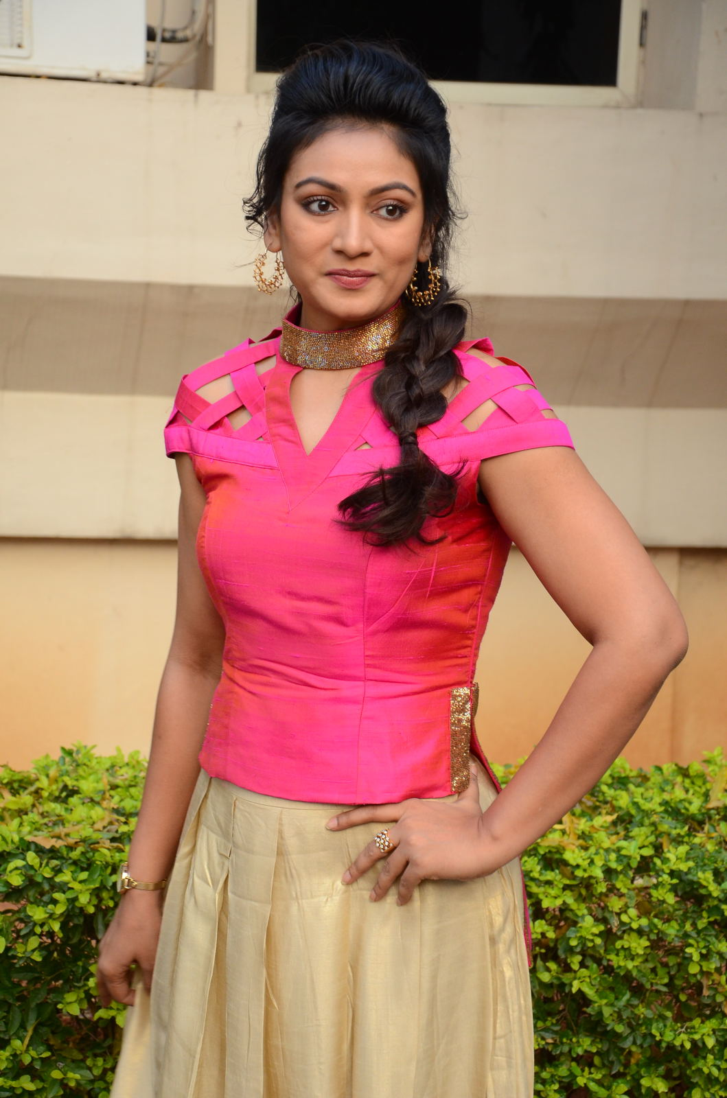 Ashmitha latest glamorous photos-HQ-Photo-16