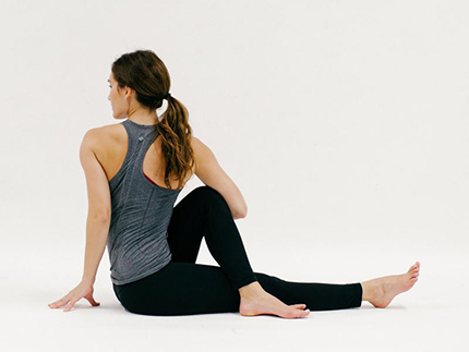 Seated Twist (YOGA)
