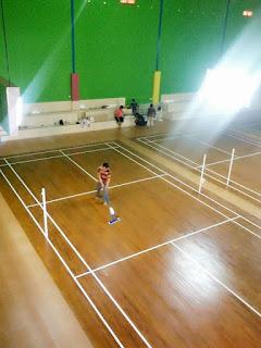 untuk Lapangan Badminton