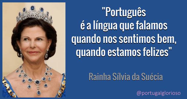 No Palácio Real da Suécia também  se fala Português