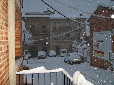 clima, Beceite, nieve, frío