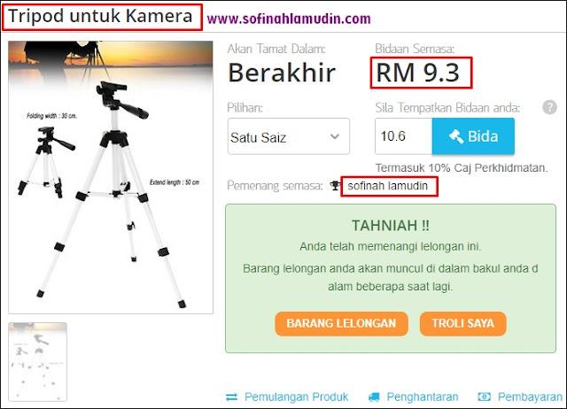 Tips Membeli atau Membida Barangan di CHILINDO dengan Harga yang Murah dan Berbaloi - Chilindo Malaysia - Sofinah Lamudin