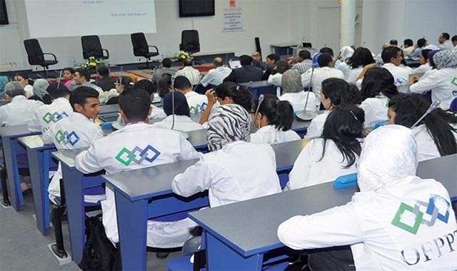 العثماني: سنمكن طلبة التكوين المهني من منح دراسية كالمنح الجامعية