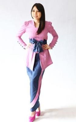 Gaun Rok Kebaya Modern untuk Remaja Perpisahan Sekolah