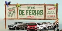 Promoção Revisão de Férias Toyota revisaodeferiastoyota.com.br