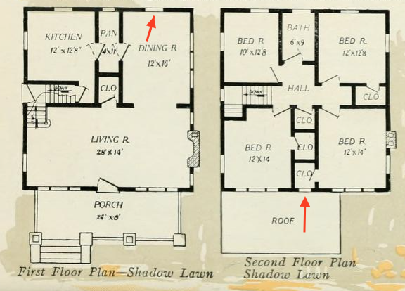 aladdin shadow lawn floor plan 1919