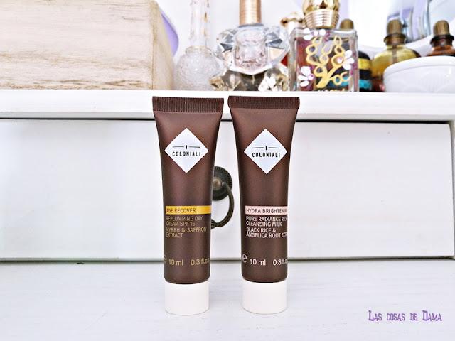 I Coloniali Guapabox septiembre beautybox belleza skincare cuidado facial belleza cosmética natural