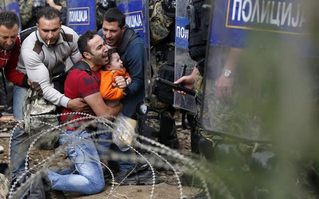 Επεισόδιο με στρατιώτες της ΠΓΔΜ και μετανάστες στα σύνορα