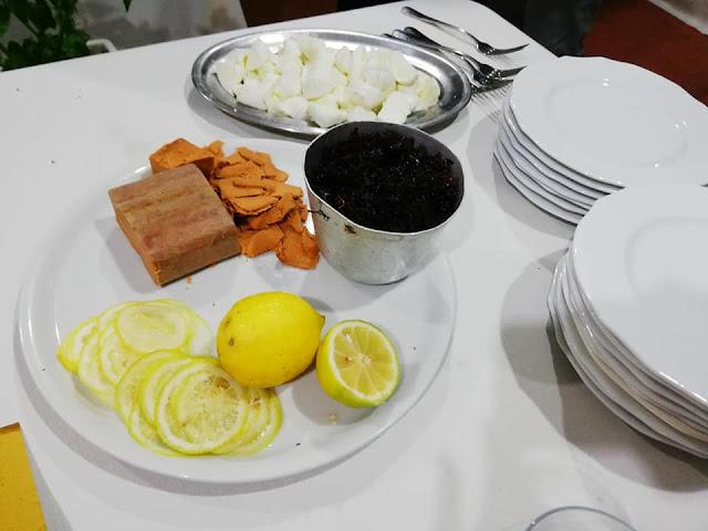ricetta mauro bottarga limone
