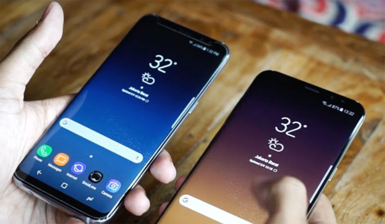 4 Cara Screenshot Layar HP Samsung Galaxy S8 dan S8 Plus