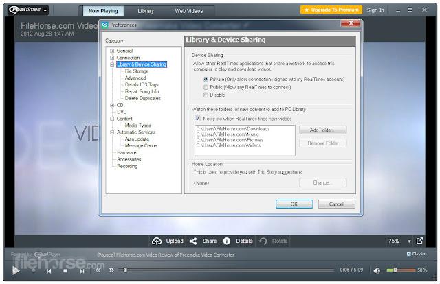 تحميل برنامج ريل بلاير Download Real Player 2020 لتشغيل الميديا للكمبيوتر والاندرويد والايفون - موقع حملها