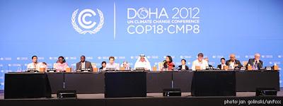 Energie et développement - Négociations climatiques réunion de la COP18 à Doha