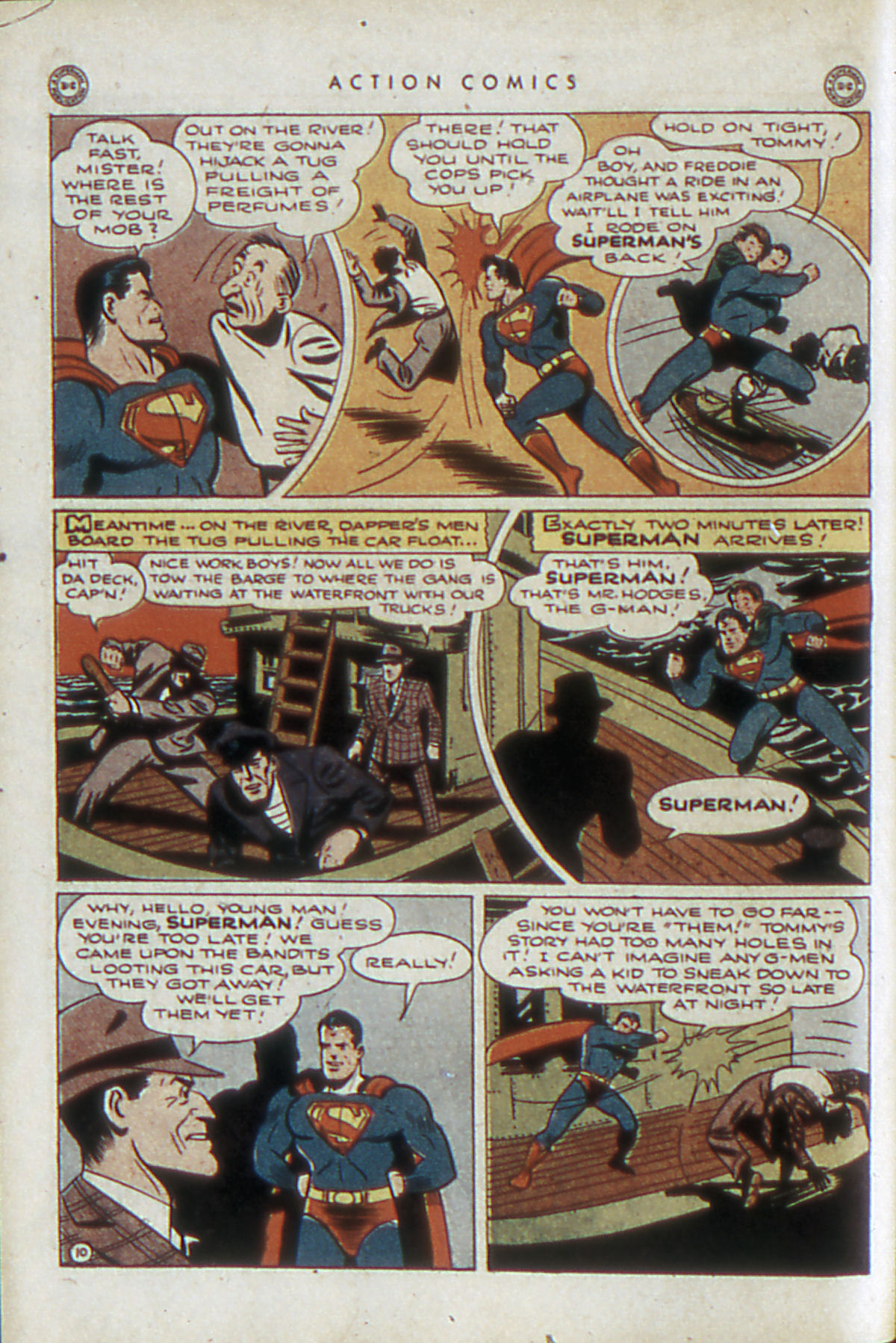 Read online Action Comics (1938) comic -  Issue #84 - 13