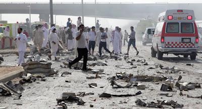 تفجير الاحساء .. بالفيديو : اخر اخبار الهجوم على مركز الأمن محاسن والحصيلة الاولية اللحظات الاولى #تفجير_الاحساء