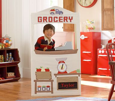 Be Different Act Normal Diy Grocery Play Stand