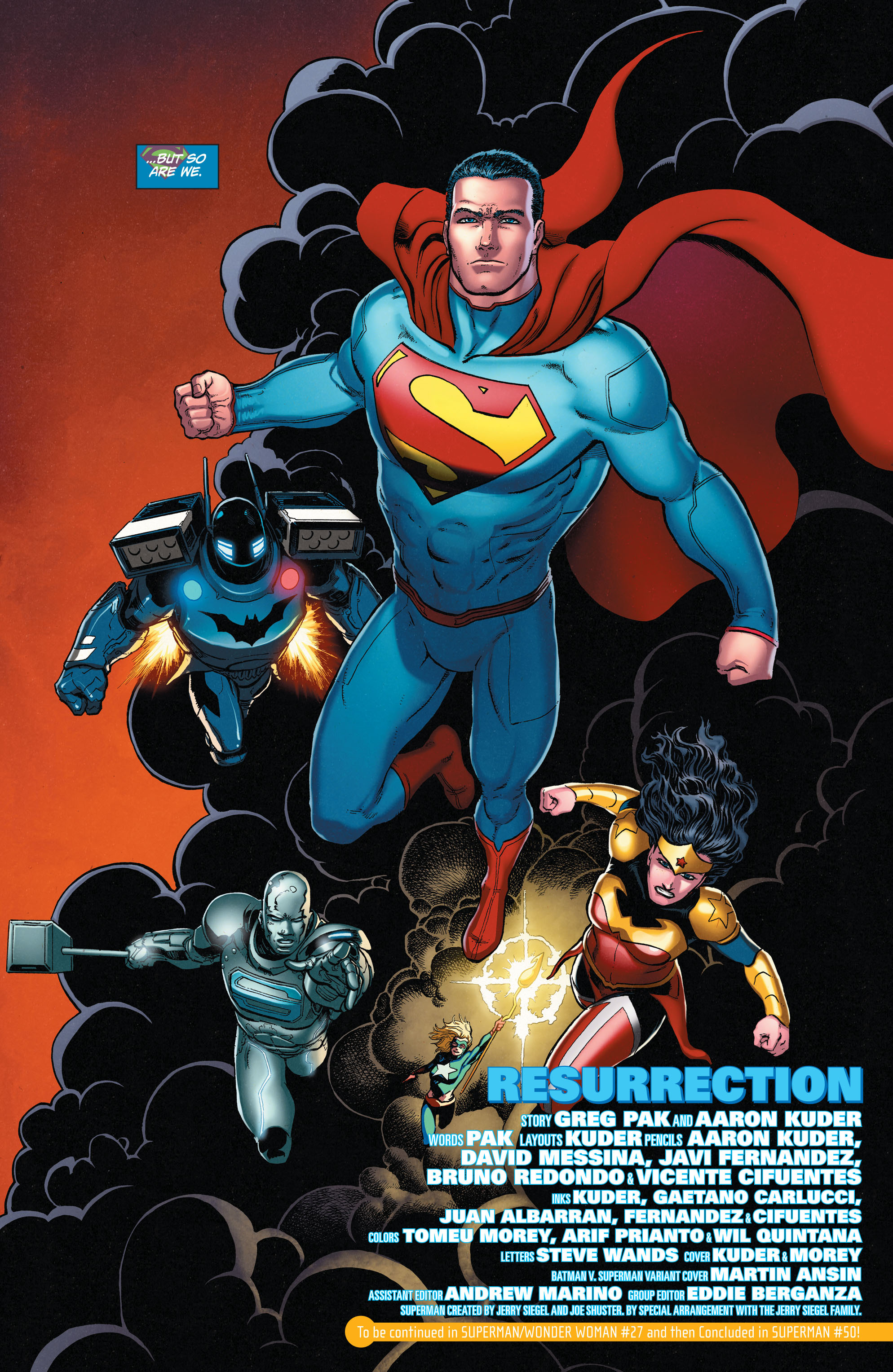 Read online Action Comics (2011) comic -  Issue #50 - 39