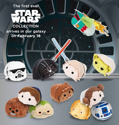Star Wars Original Trilogy Tsum Tsum Plush Series by Disney