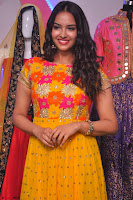 Pujitha in Yellow Ethnic Salawr Suit Stunning Beauty Darshakudu Movie actress Pujitha at a saree store Launch ~ Celebrities Galleries 041.jpg