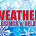 Area weather closings and delays 11-12-2018