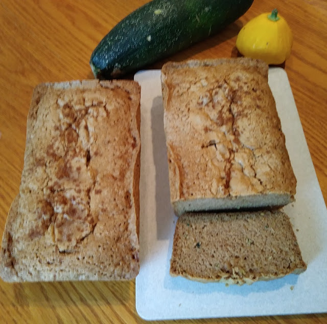moist easy zucchini bread