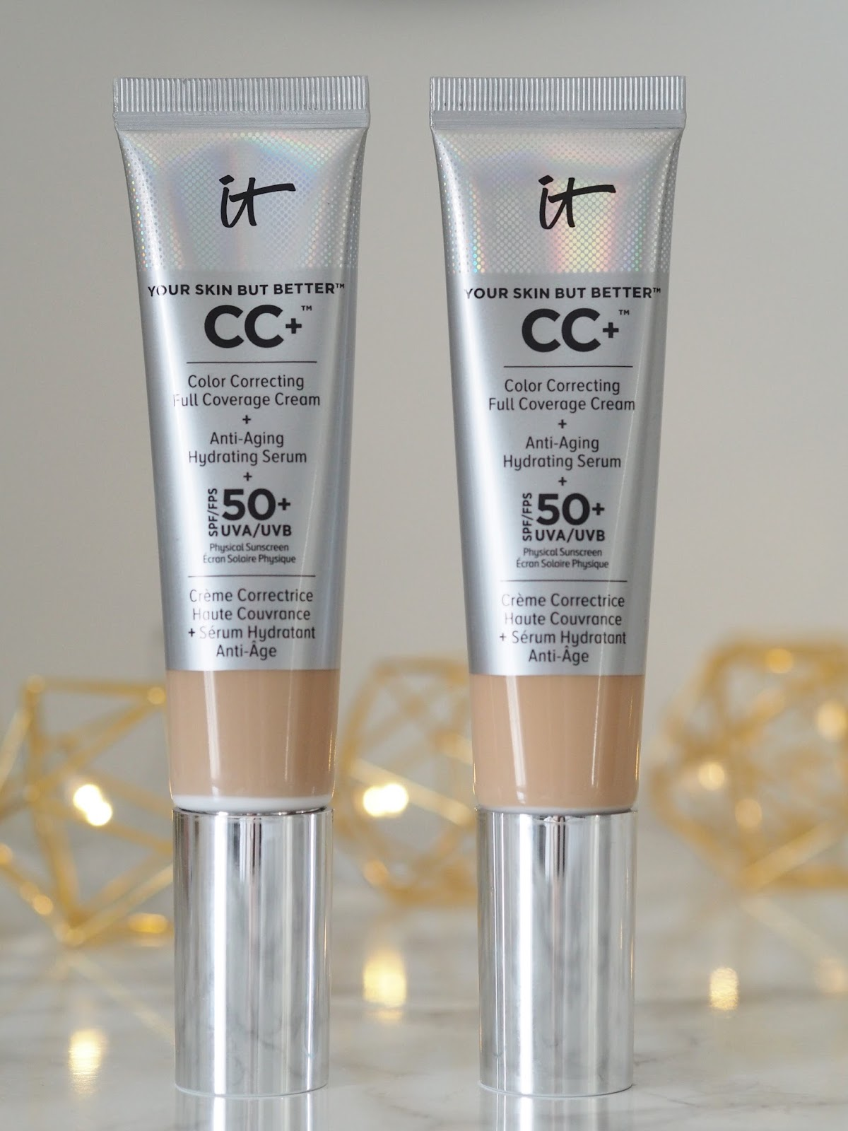 IT cosmetics CC+ cream Your Skin But Better \  QVC \ review\ beauty \ skincare \ Priceless Life of Mine \ Over 40 lifestyle blog