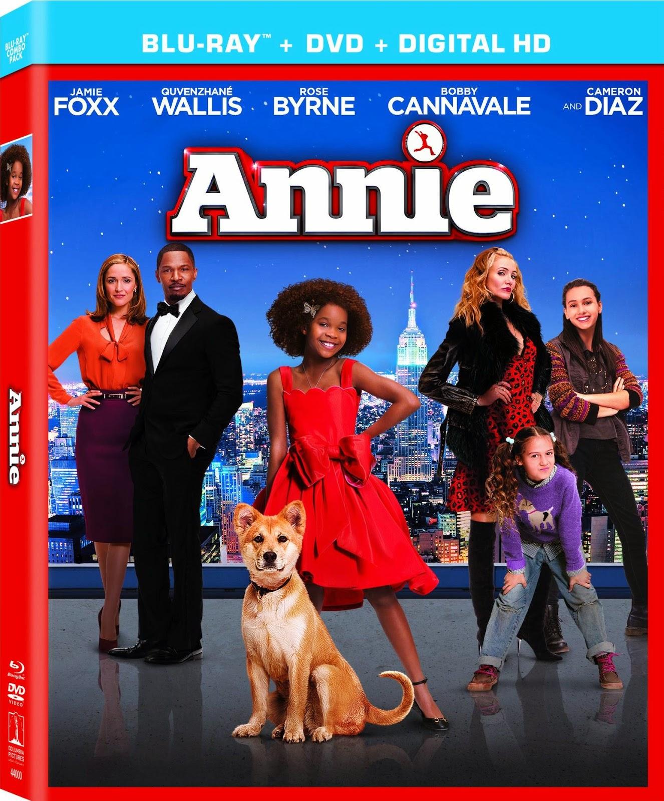 Annie Cover Caratula Blu ray