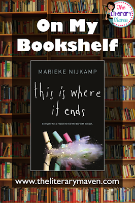 This Is Where It Ends by Marieke Nijkamp is the terrifying tale of an armed and angry young man who begins shooting in the packed auditorium of his high school. With no where to hide or run (the doors are locked from the outside), the students and staff trapped inside can only hope that help will come quickly. Read on for more of my review and ideas for classroom application.