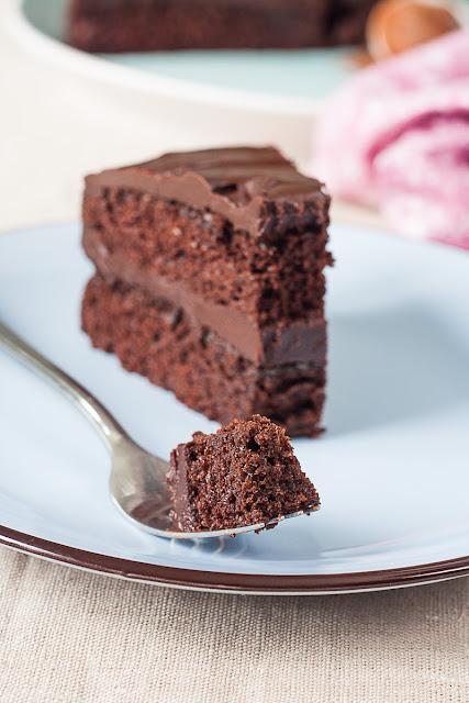 Veoma čokoladna torta (Devil's Food Cake)