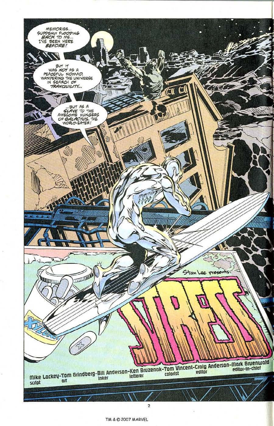 Silver Surfer (1987) Issue #104 #112 - English 4