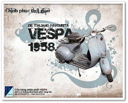 Gambar Vespa Klasik 002