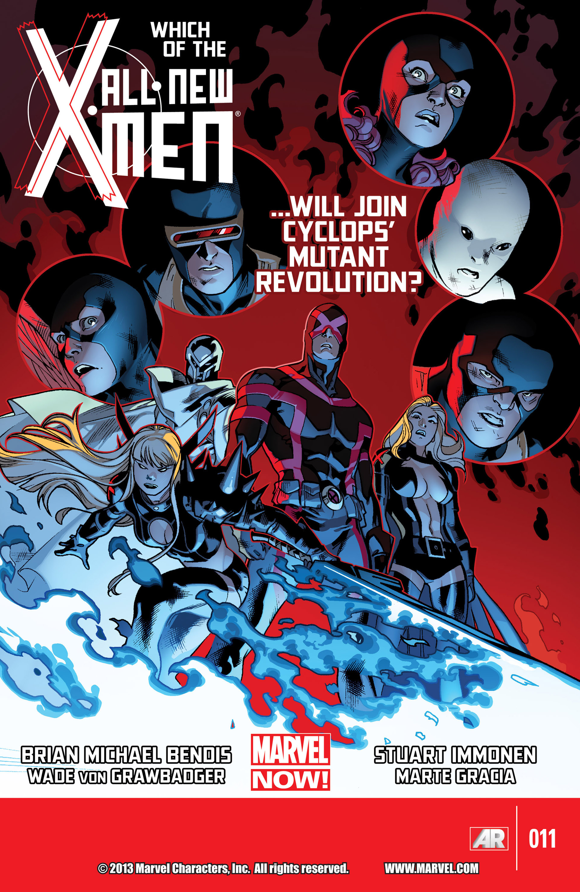 Read online All-New X-Men (2013) comic -  Issue #11 - 1