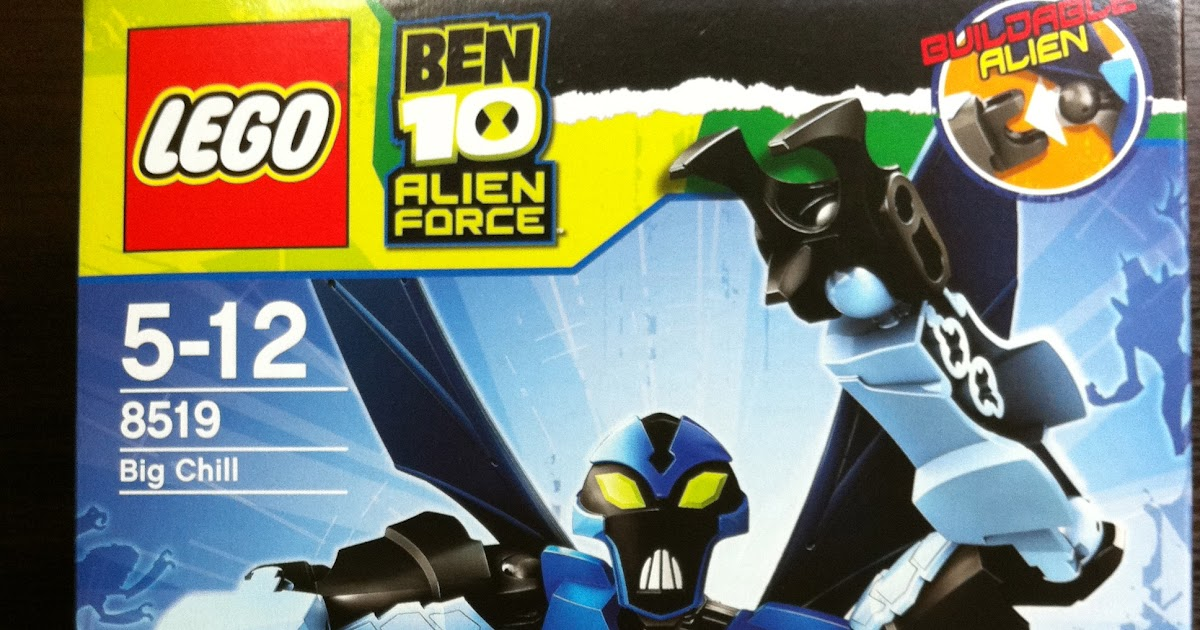 Away From Work Lego Ben 10 Alien Force 8519 Big Chill And 8409 Spider Monkey
