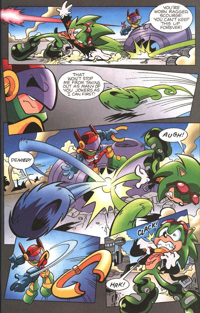 Read online Sonic The Hedgehog comic -  Issue #197 - 21