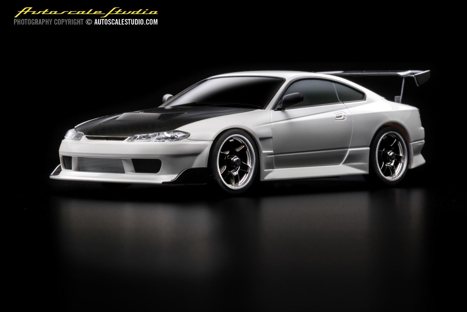 mzp413cw nissan silvia s15 gt wing carbonhood white. Black Bedroom Furniture Sets. Home Design Ideas