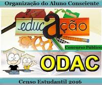 Apostila Concurso Organização do Aluno Consciente - ODAC/SP Agente Recenseador 2016