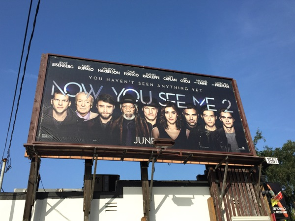 Daily Billboard: Now You See Me 2 movie billboards ...