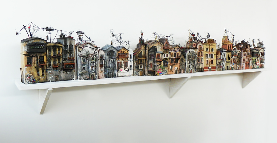 03-Katarina-Pridavkova-Fantasy-Architecture-in-Plaster-and-Clay-Town-www-designstack-co