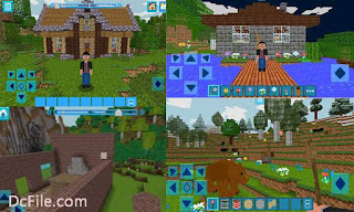 RealmCraft with Skins Export to Minecraft Game