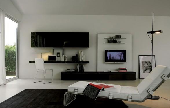 Iluminaci n elegante para salas de estar living rooms c mo arreglar los muebles en una - Arreglar silla oficina se queda baja ...