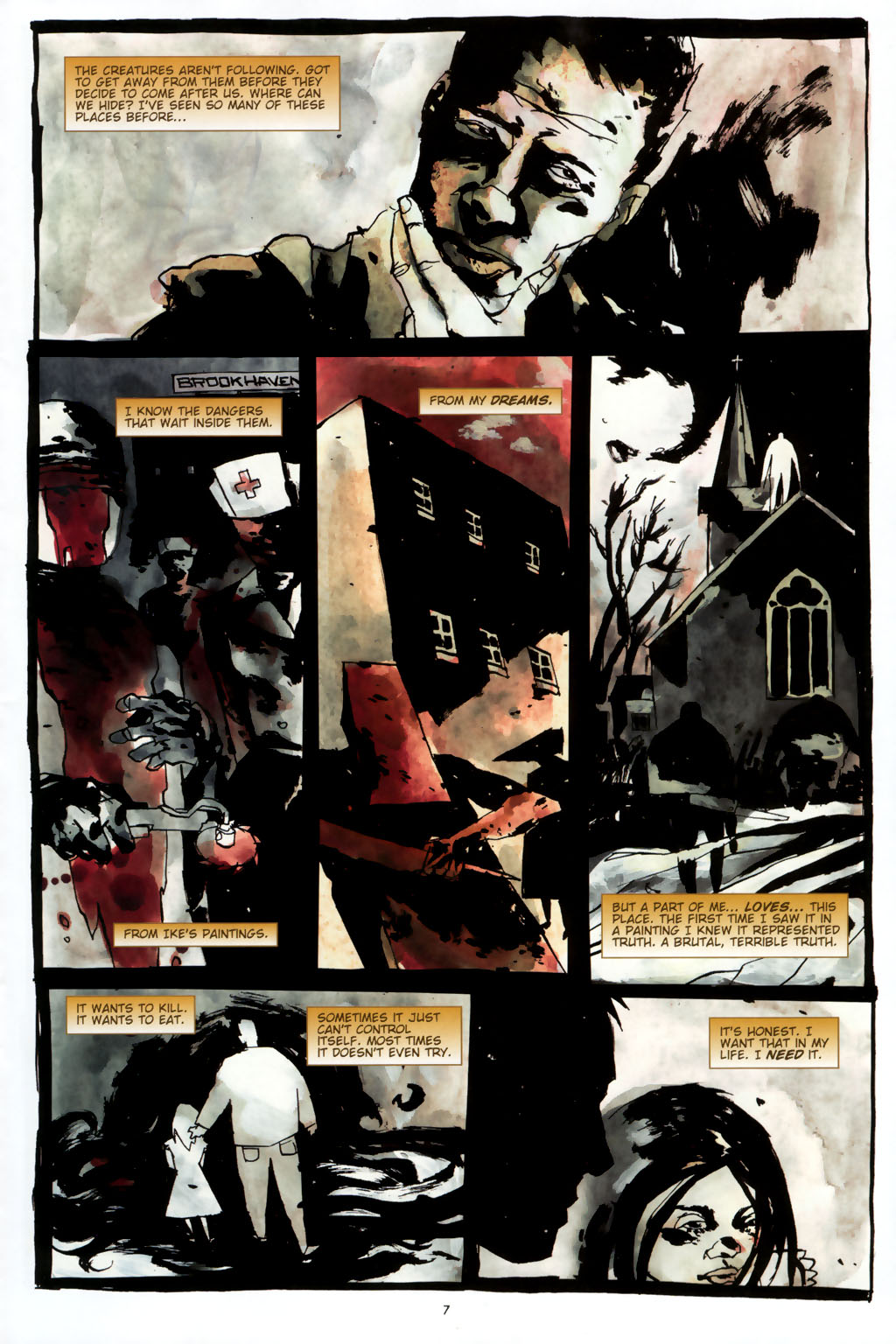 Read online Silent Hill: Dead/Alive comic -  Issue #2 - 9