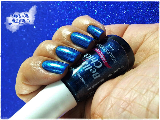 Bella Chick Esmalte Nailpolish Azul Petroleo