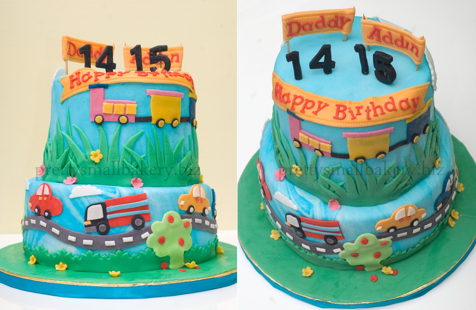 Kek Birthday Double Celebration Sbb Same Interest Minat